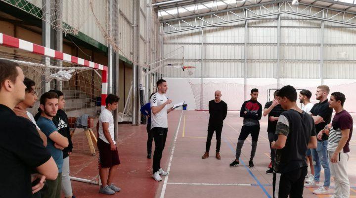 Primer torneo en valores de alumnos de FP Básica del Sabino Berthelot