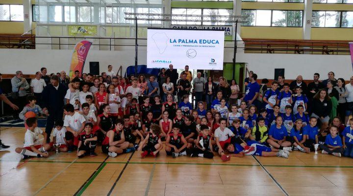 """Todo el baloncesto palmero en el """"I TORNEO DE VALORES"""" de la Palma"""